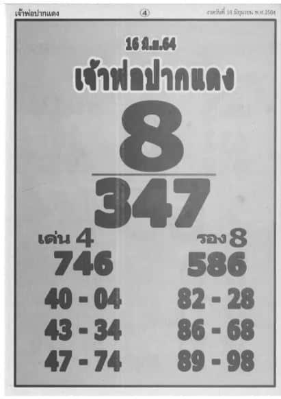หลวงพ่อปากแดง 16/6/64